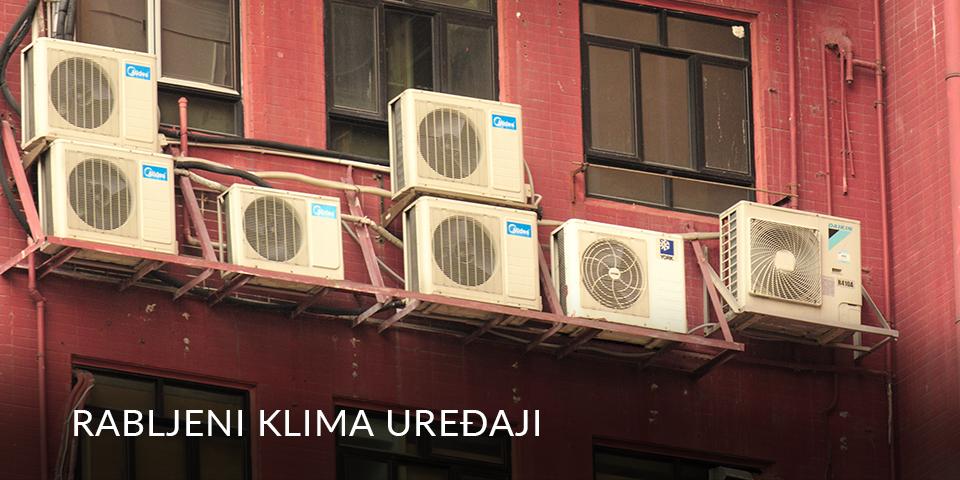 rabljeni klima uređaji